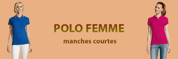 polo-femme-manches-courtes