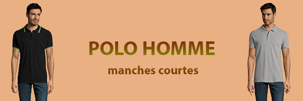 polo-homme-manches-courtes