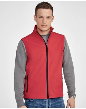 SOFTSHELL HOMME SANS MANCHES RACE BW