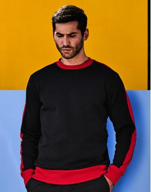 Contrast Polyester Sweat
