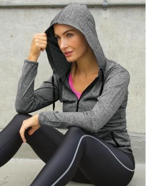 Women`s Hooded Tee-Jacket