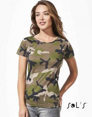Tee shirt femme : CAMO