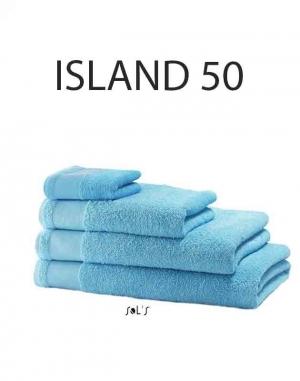 Serviette de bain bio : ISLAND 50