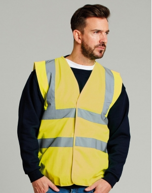 4-Band Safety Waistcoat Class 2