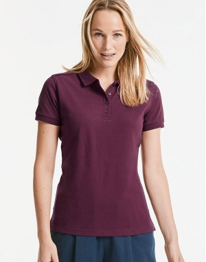 Ladies` Tailored Stretch Polo
