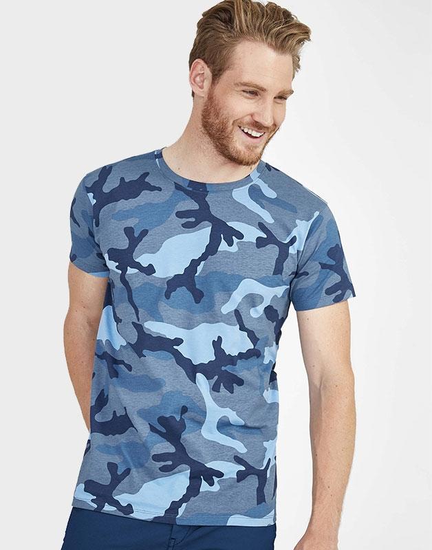 Tee Shirt SOL'S CAMO MEN