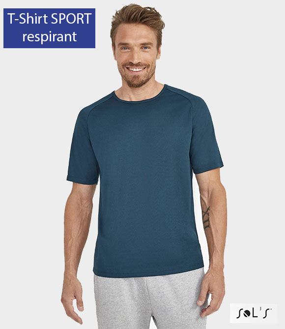 Tee shirt sol's Sporty