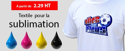 Tee-shirts pour la sublimation