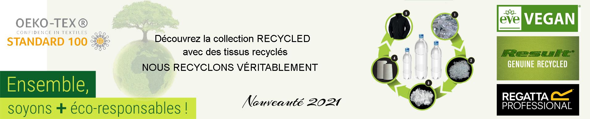 tee shirt recyclé